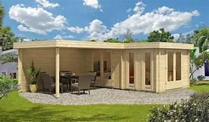 Gartenhaus Mit Flachdach : gartenhaus holz flachdach modern ~ Frokenaadalensverden.com Haus und Dekorationen