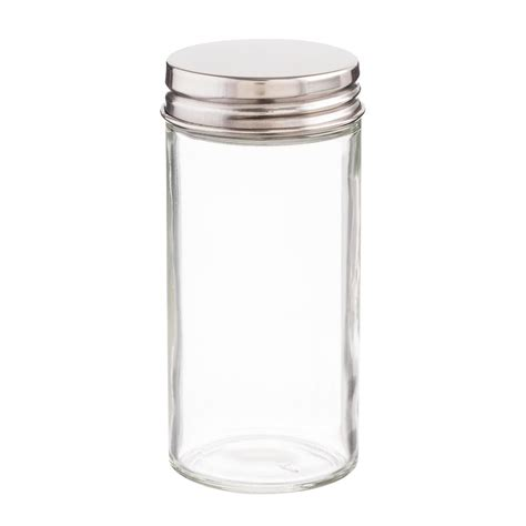 Glass Spice Bottles by 3 Oz Glass Spice Bottle With Chrome Lid Cake Spice