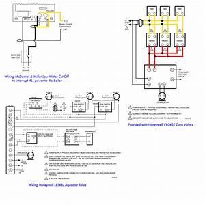 Boiler  Boiler Zone Valve Wiring