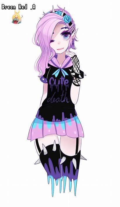 Goth Pastel Render Kawaii Deviantart Anime Chubby