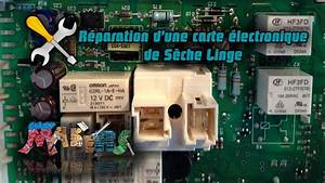 R U00e9paration De La Carte  U00e9lectronique Des S U00e8che