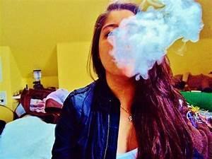 girls smoking weed on Tumblr
