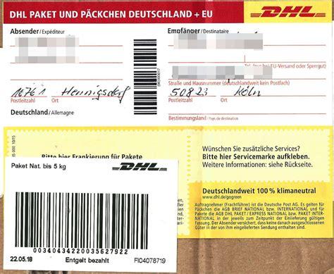 Sie möchten gerne eine einrollung bei dpd, dem paketdienstleister vornehmen? Paketaufkleber International Ausdrucken