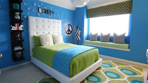 blue green bedrooms lime green  pink lime green