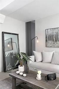 Miroir Deco Salon : inspiration d co pour un petit salon la maison ideale ~ Melissatoandfro.com Idées de Décoration
