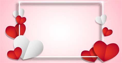 kumpulan gambar background love warna pink  merah full hd wartapagiid