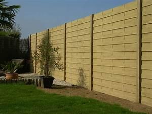 Cloture Beton Imitation Bois : claustras b ton pvc bois ~ Dailycaller-alerts.com Idées de Décoration