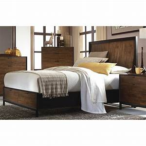 Curved panel storage bed queen 3600 4125k kateri legacy for Legacy furniture and mattress redding ca