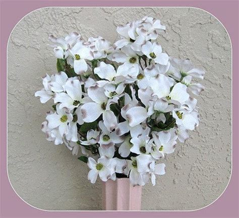 dogwood flowers white flowers silk flower artificial flower