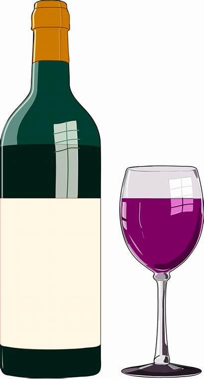 Wine Bottle Glass Clip Publicdomainfiles Domain Copyright