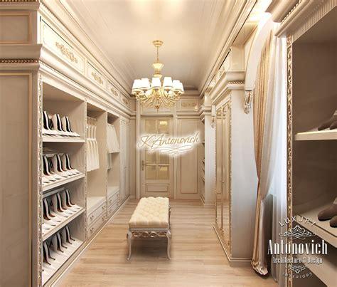 Luxury Dressing Room Interior UAE