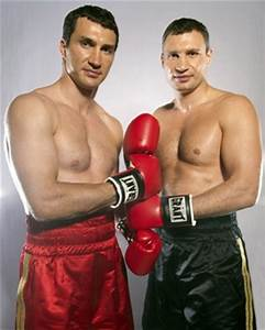 Wladimir & Vitali Klitschko | sports illustrated | Pinterest