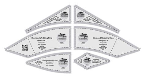 creative grids cgrdia wedding ring template rulers ebay