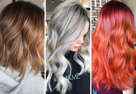 Unique Hair Colors For Skin by How To The Best Hair Color For Your Skin Tone Hairs