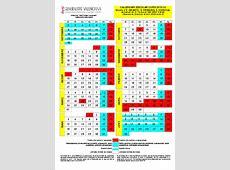 Calendario lectivo Calendarios