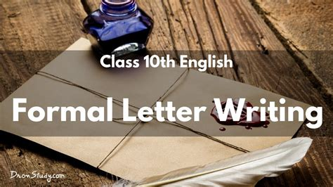 formal letter writing cbse class  english youtube