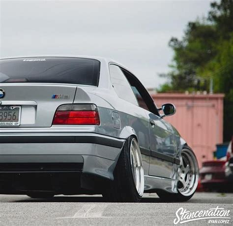Modified Silver Cars by Bmw E36 M3 Silver Stance Bmw Ultimate Driving Machine
