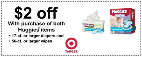 26016 Huggies Diapers Coupons Target by 2 2 Huggies Printable Target Coupon Still Available