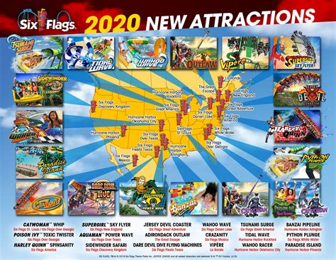 flags attractions announced parks