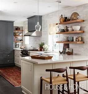 30 kitchens that dare to bare all with open shelves open With kitchen cabinet trends 2018 combined with good morning beautiful wall art