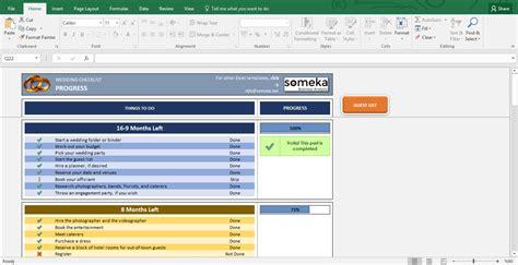 excel checklist template wedding checklist excel template for wedding planning