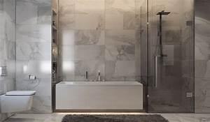 Salle De Bain Baignoire : 36 id es salles de bains avec baignoire de luxe ~ Dailycaller-alerts.com Idées de Décoration
