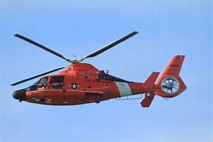 HH 65 Dolphin US Coast Guard Helicopter Editorial Photo