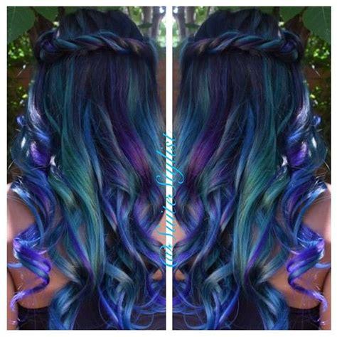 Best 25 Peacock Hair Color Ideas On Pinterest Peacock