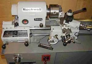 """Rockwell 10"""" Metal Lathe"""