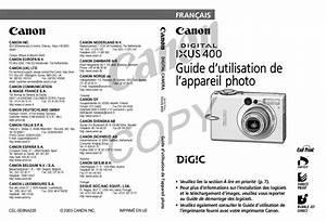 Multimetre Digital Mode D Emploi : mode d 39 emploi canon digital ixus 400 appareil photo ~ Dailycaller-alerts.com Idées de Décoration