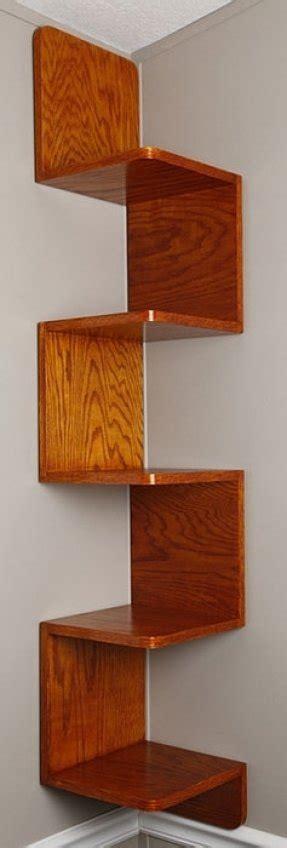 Zig Zag Bookcase by Zig Zag Corner Shelf Foter