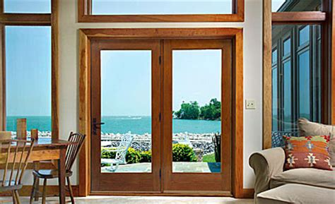 hinged patio door systems therma tru