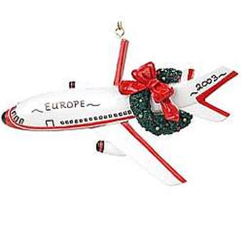 personalized pilot jet airplane ornament findgift com