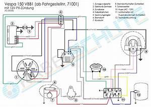 Kabelbaum Vespa 150 Vbb1 Ab 71001 Conversion