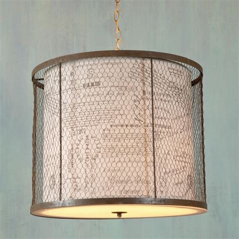 wire cage drum shade lantern l shades by shades of