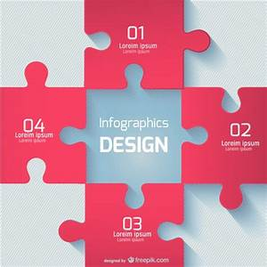 Red puzzle pieces Vector | Free Download