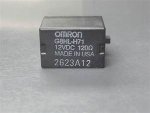 Honda Omron G8hl H71 12vdc 120 Ohm Relay For Sale In