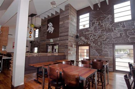 photo   gray barnwood accent wallrestaurant