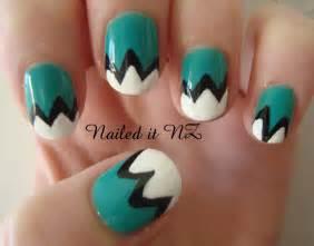 Nailed it nz nail art for short nails mountain