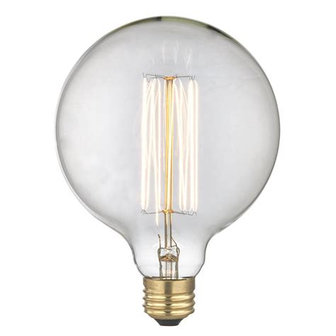accent cabinets vintage edison g40 globe light bulb 60 watts 60g40