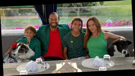 Tiger Woods Shares Rare Photo With Kids and Girlfriend ...