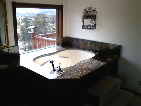 tub surround legends granite