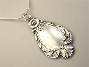 Spoon Pendant Necklace Jewelry