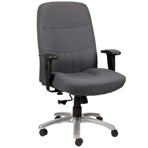furniture blue leather desk chair with unique arms
