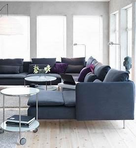 Canape Design Et Confortable : canap d 39 angle design pour moderniser un salon c t maison ~ Teatrodelosmanantiales.com Idées de Décoration