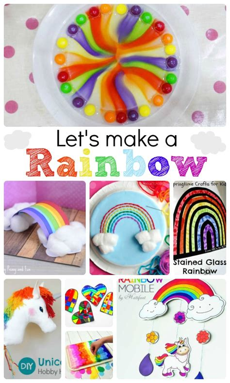 rainbow crafts amp activities ted s 605 | Easy Rainbow Crafts for Kids
