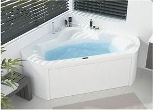 Baignoire Douche Balneo : baignoire balneo d 39 angle 140x140 star design mixte plus ~ Melissatoandfro.com Idées de Décoration