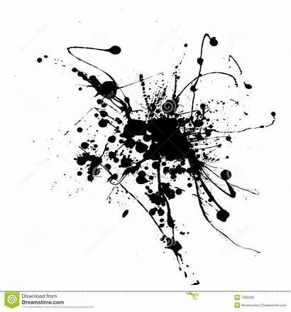 Ink Splat Simple Spider Splatter Encre Inkt
