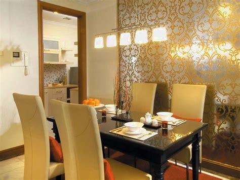 wallpaper solusi praktis menata ruang makan