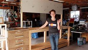 Build a Simple 2x4 Workbench - YouTube